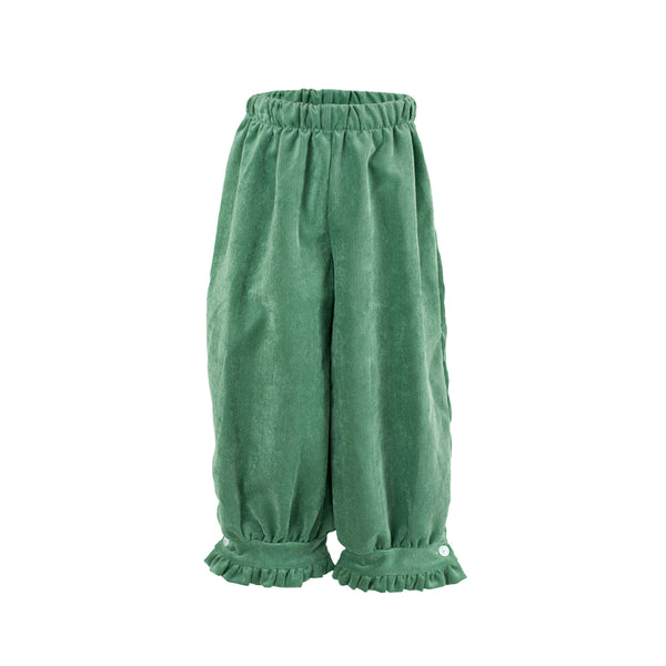 Camille Pants- Grass Green Corduroy