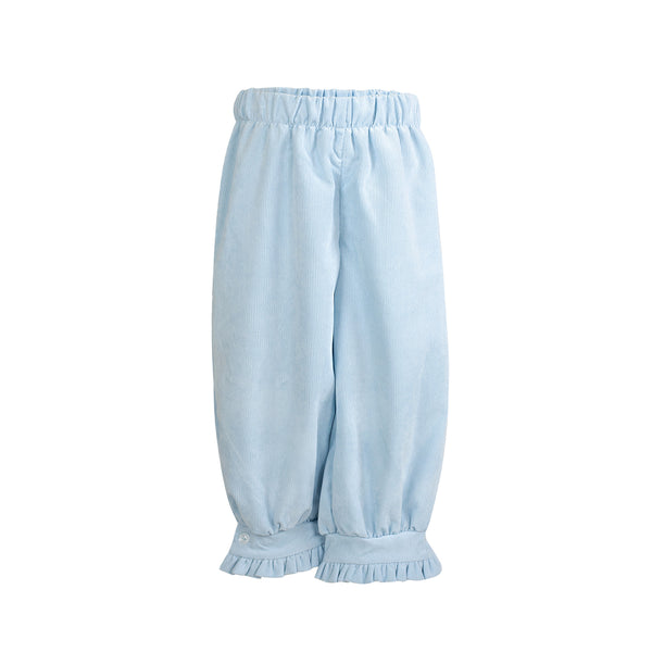 Camille Pants in Light Blue Corduroy