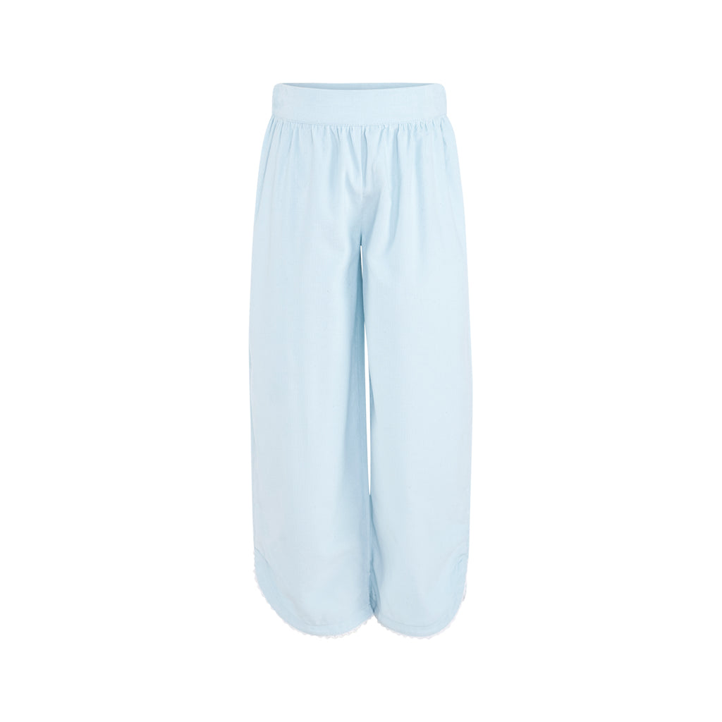 Carolyn Pant in Light Blue Corduroy
