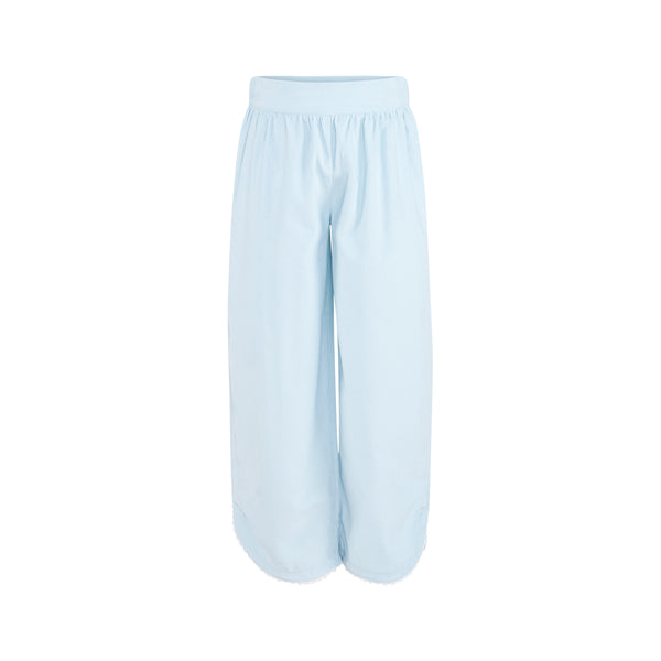 Carolyn Pant in Light Blue Corduroy-AKF