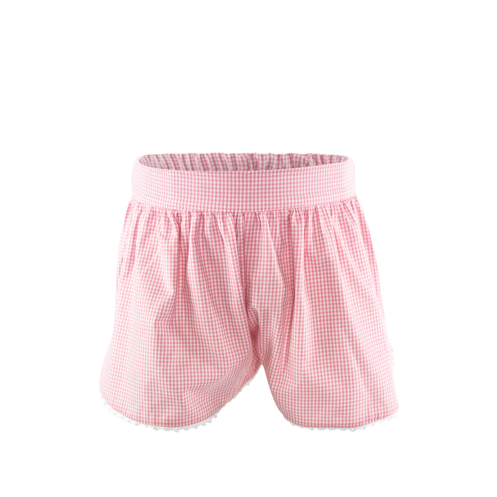 Carolyn Short - Pink Gingham