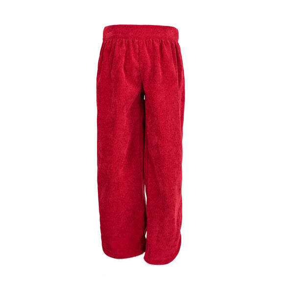 Carolyn Pant in Red Corduroy