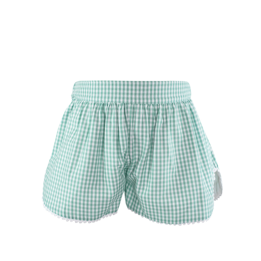 Carolyn Short - Sage Gingham