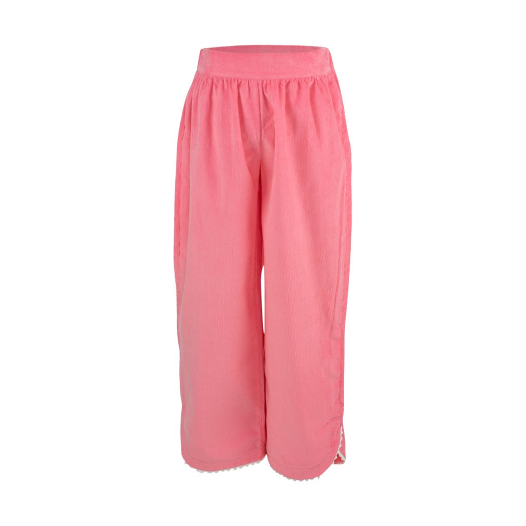 Carolyn Pant- Living Coral Corduroy Sample Size 4T