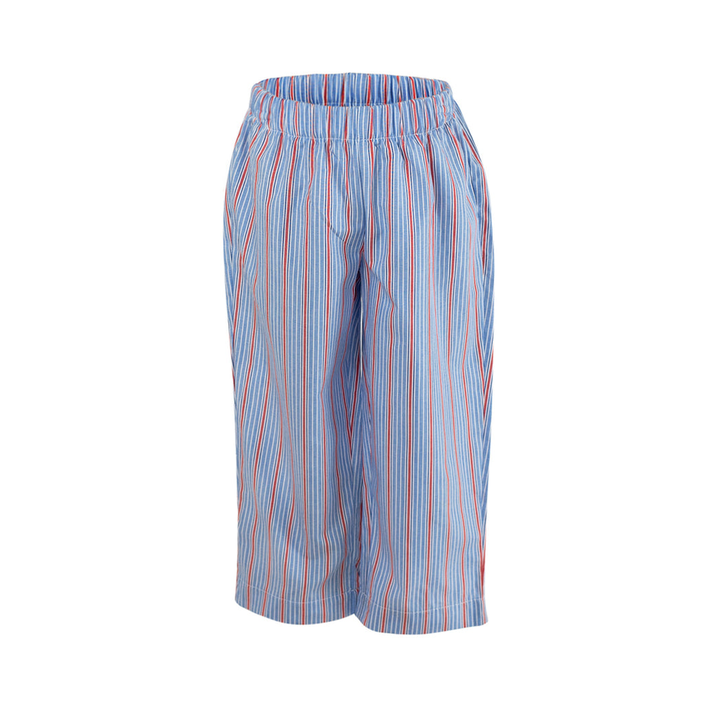 Classic Pant in Blue with Red Stripe