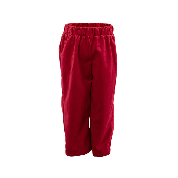 Classic Pant in Red Velvet