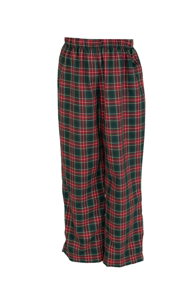 Classic Pant in Tartan Plaid- Sample Size 5
