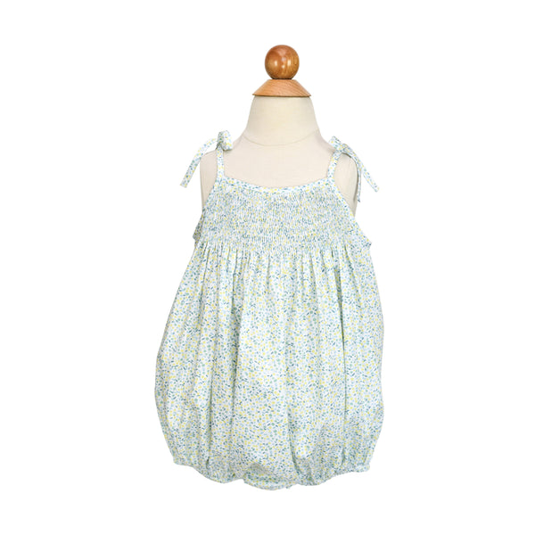 Smocked Sunsuit Bubble- Sample