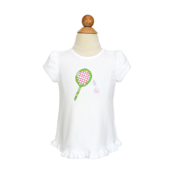 Tennis Racket Applique