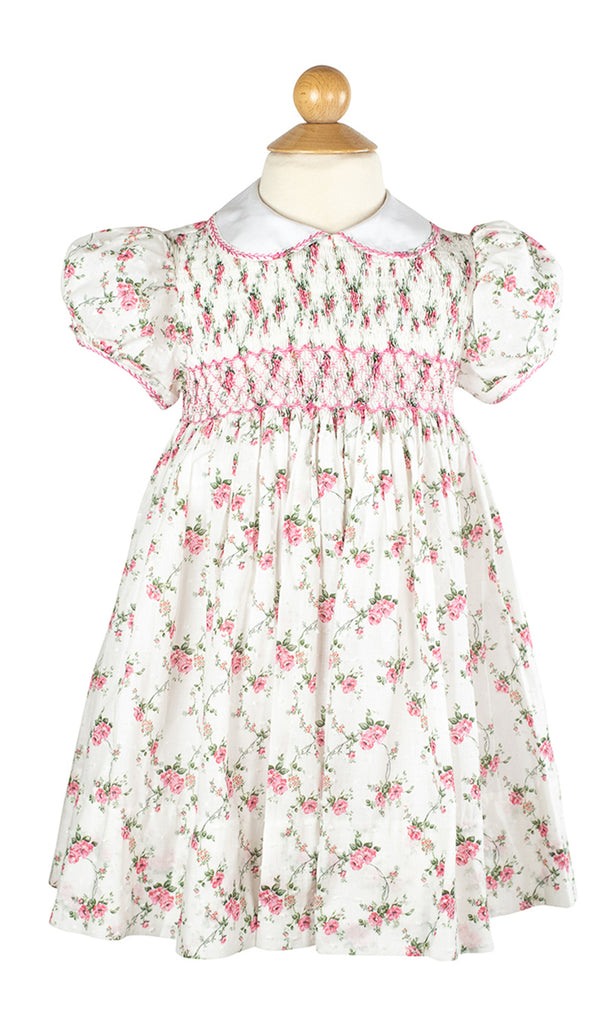 Smocked Frock Dress- Sample Size 4T
