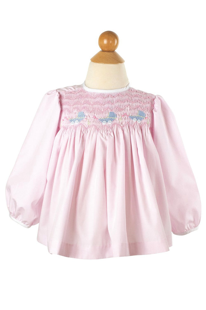 Smocked Buggy Diaper Shirt