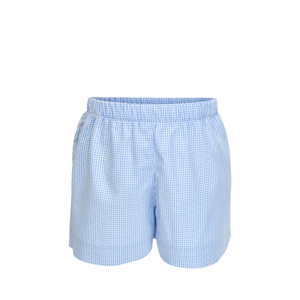 George Shorts- Blue Gingham
