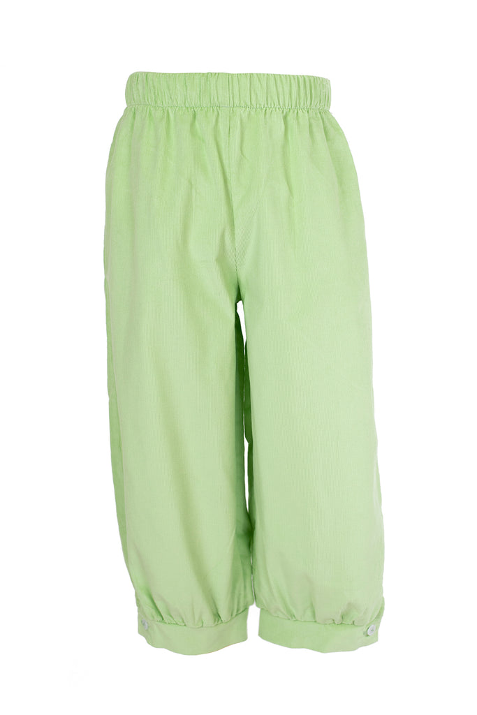Sam Pant in Soft Pistachio Corduroy- Sample Size 3T