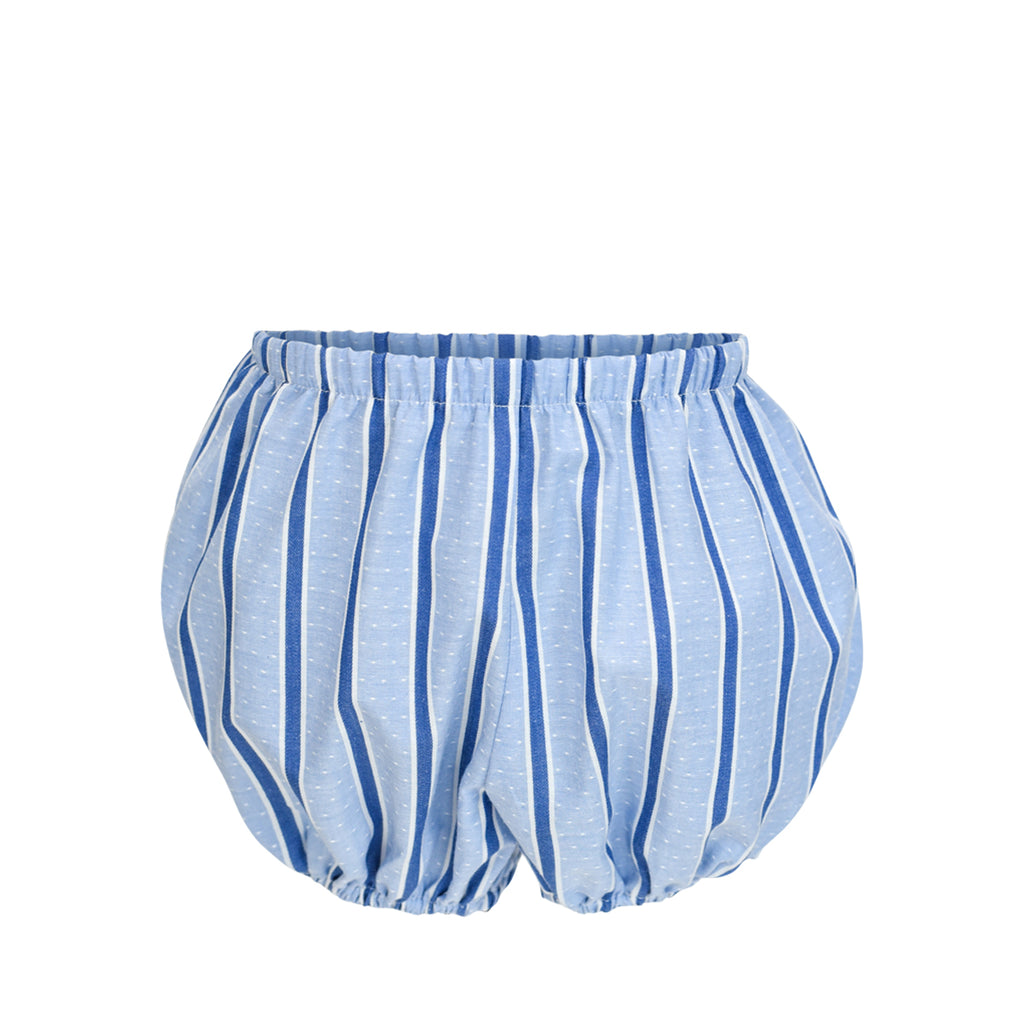 Bradford Bloomers- Periwinkle Stripe- Sample