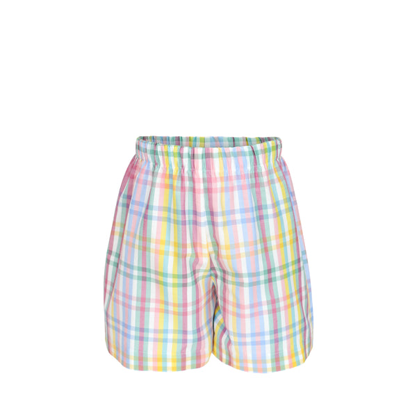 George Shorts- Pastel Tri-Check- Sample