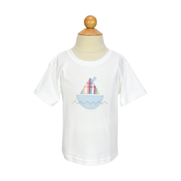 Sailboat Applique- Sample