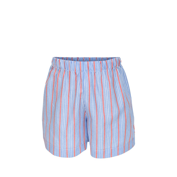 George Shorts- Red/Blue Stripes