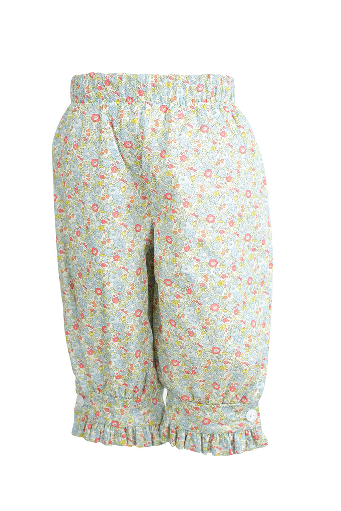 Camille Pants in English Garden Liberty- Sample Size 18m