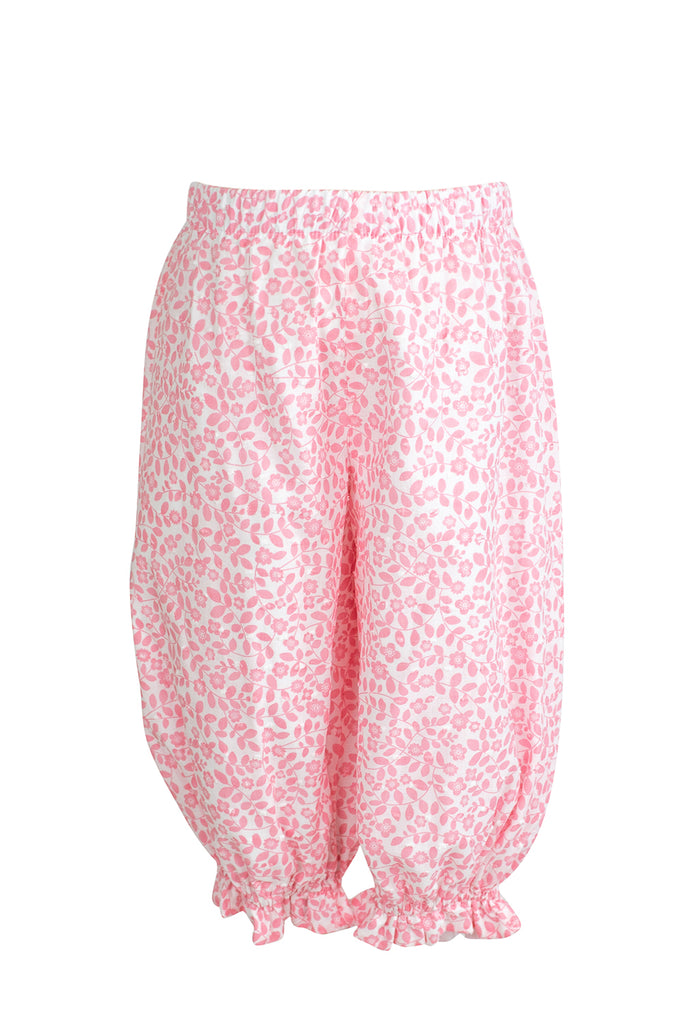 Kate Bloomer Pant in Pink Swiss Floral- Sample Size 18m