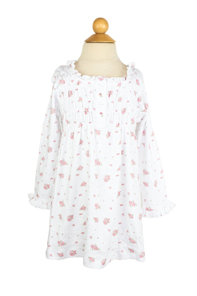 AK Flowers Nightgown- Sample Size 4T
