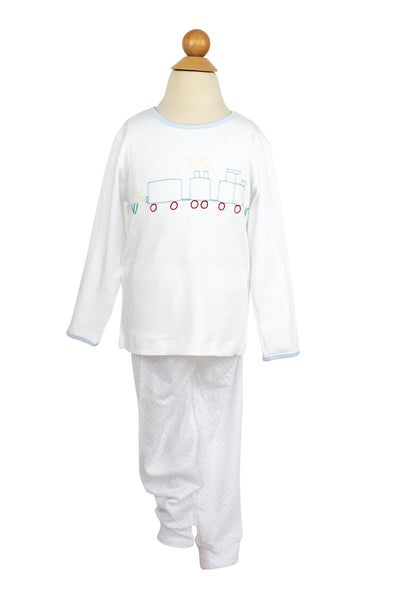 AK Train PJs- Sample Size 2T