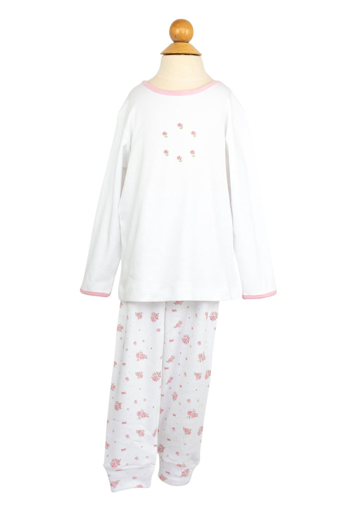 AK Flower PJs- Sample Size 2T
