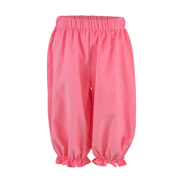 Kate Bloomer Pant - Living Coral Corduroy Sample Size 12m