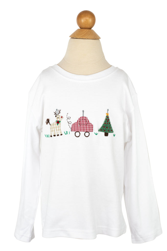 Wind Up Toys Applique Shirt