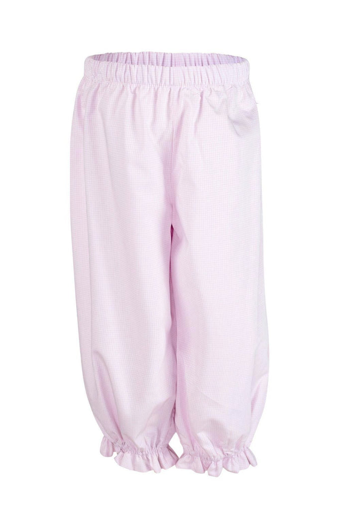 Kate Bloomer Pant in Pink Mini Plaid