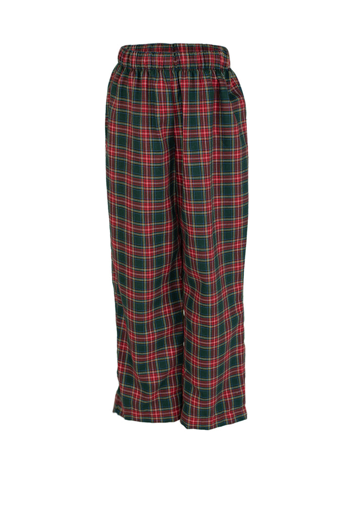 Classic Pant in Tartan Plaid