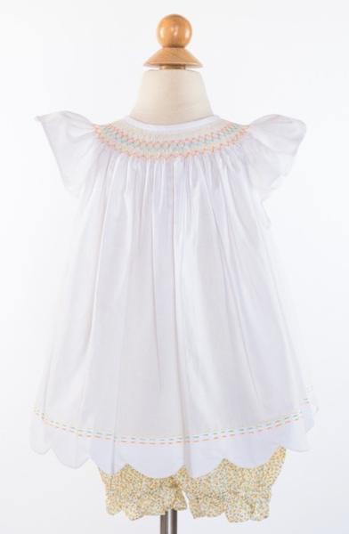 Annabelle Bloomer- Citron Daisies Size 3T