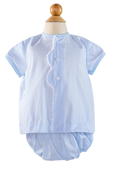 Beehive Smocked Diaper Set- Boy Size 18M
