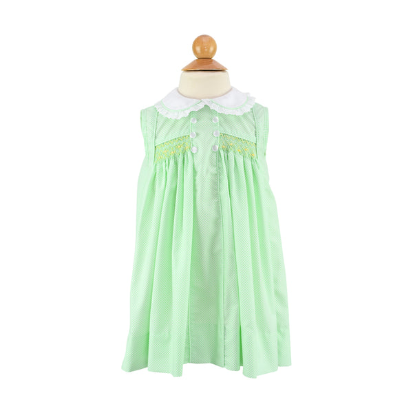 Pre-Order: Daydress - Lime Dots