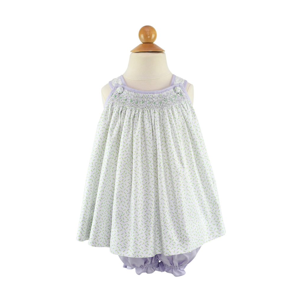 Anna Belle Bloomers - Lilac Pique - Size 18m