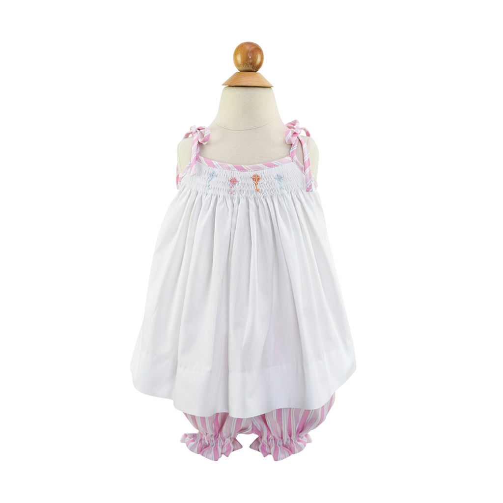 Smocked Kites Blouse
