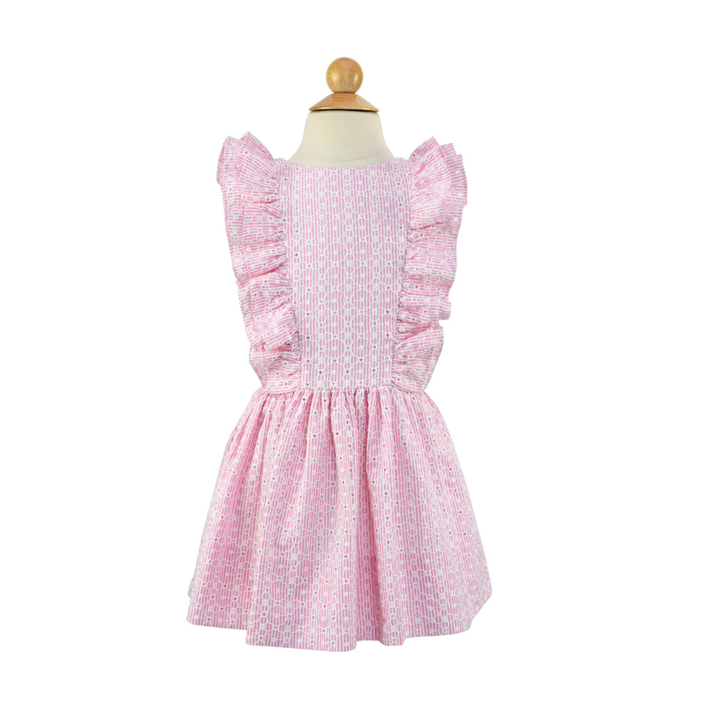 Dropwaist Pinafore Dress