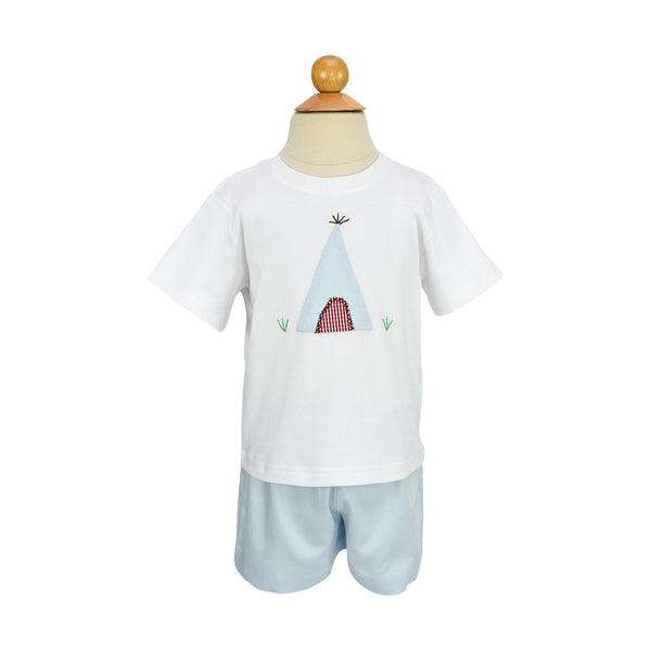 Tee Pee Applique Shirt- Sample Size 3T