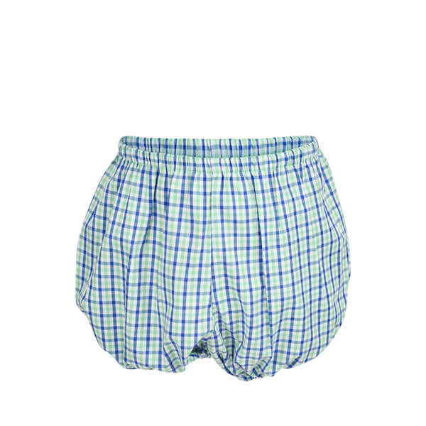 *Bradford Bloomers - Sea/Periwinkle Tricheck- AKF