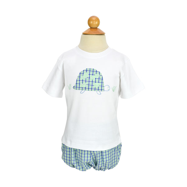 *Turtle Applique Shirt- AKF