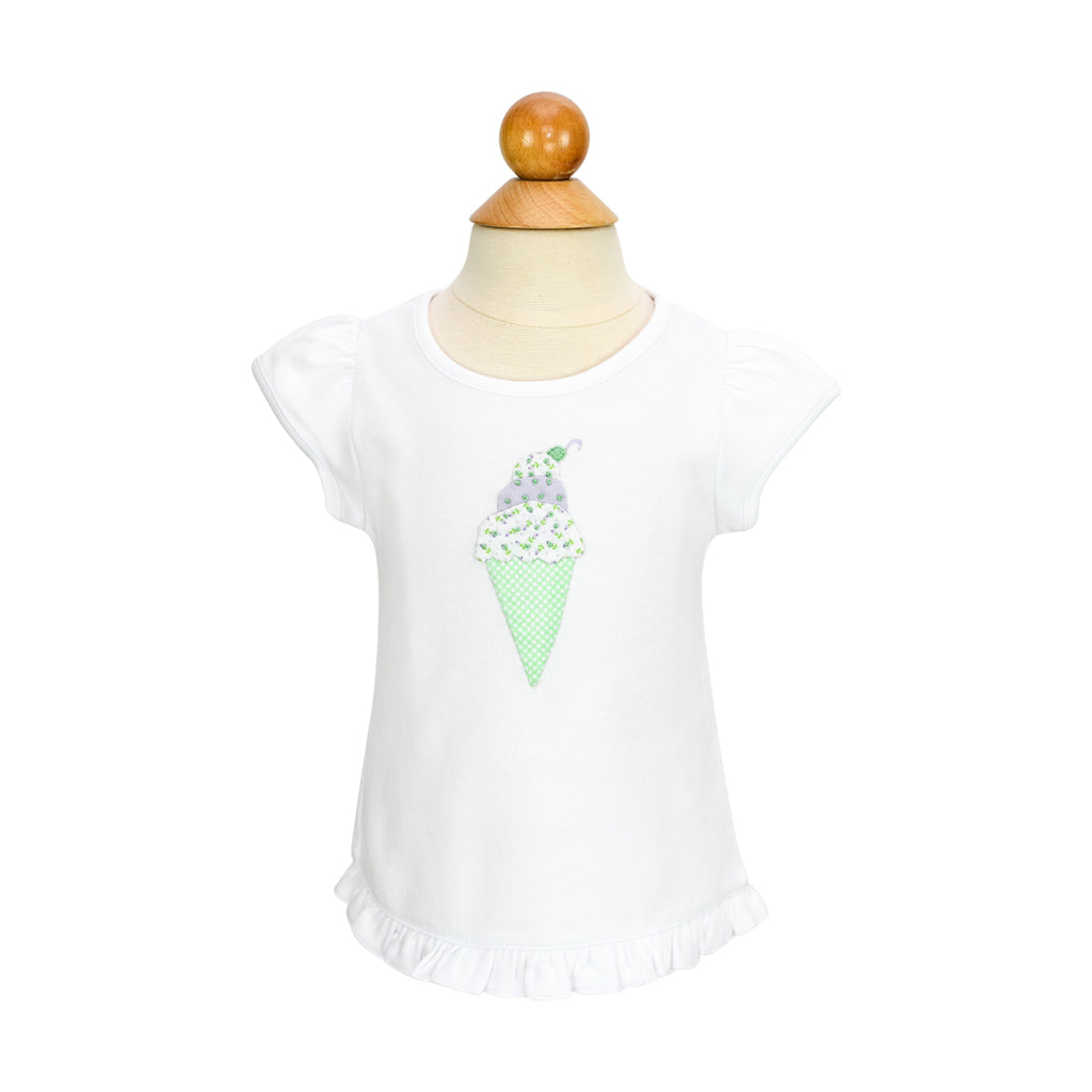*Ice Cream Applique Shirt- AKF