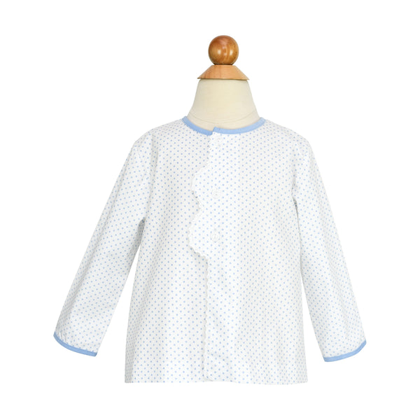Smocked Wagon Apron Shirt