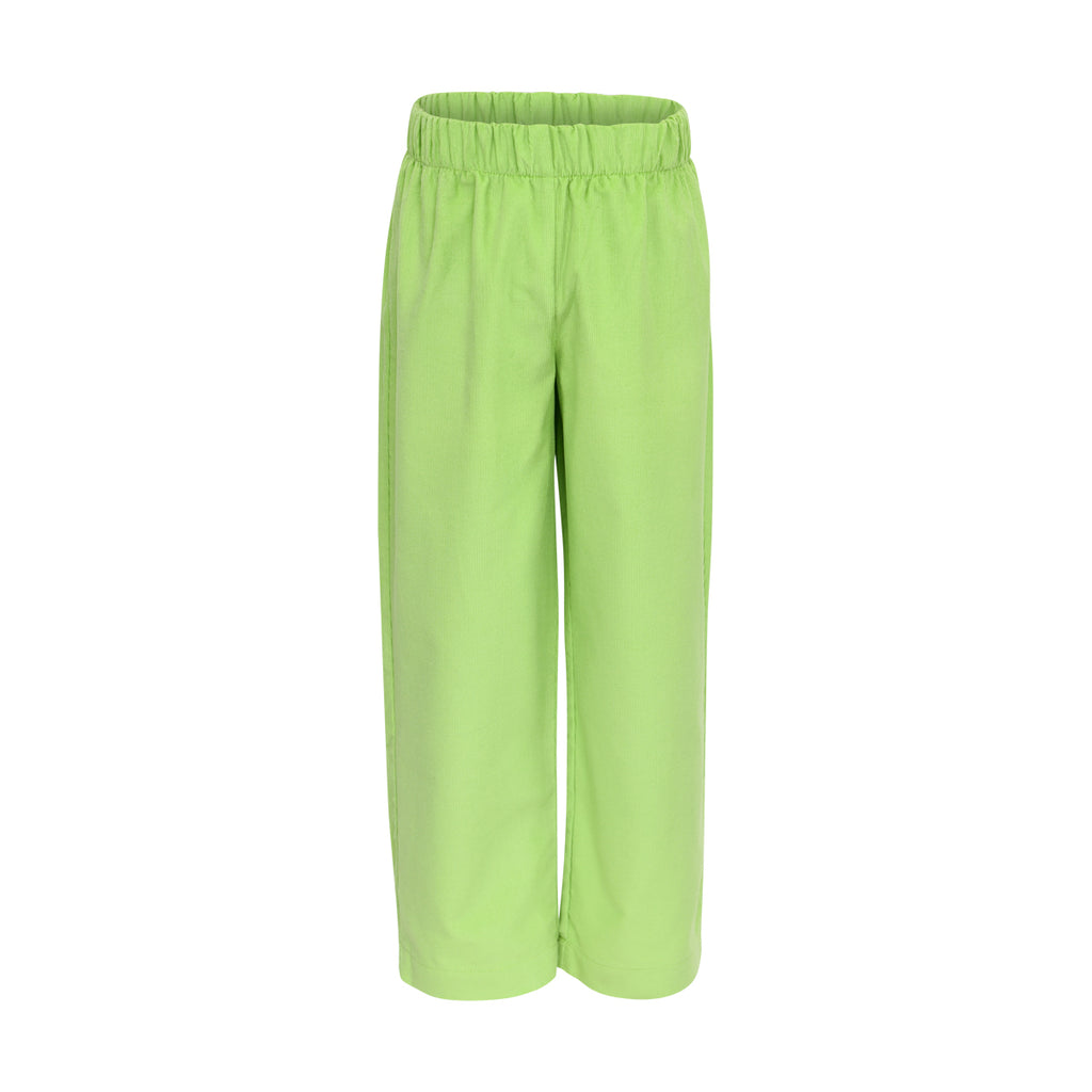 Ford Pant in Lime Corduroy