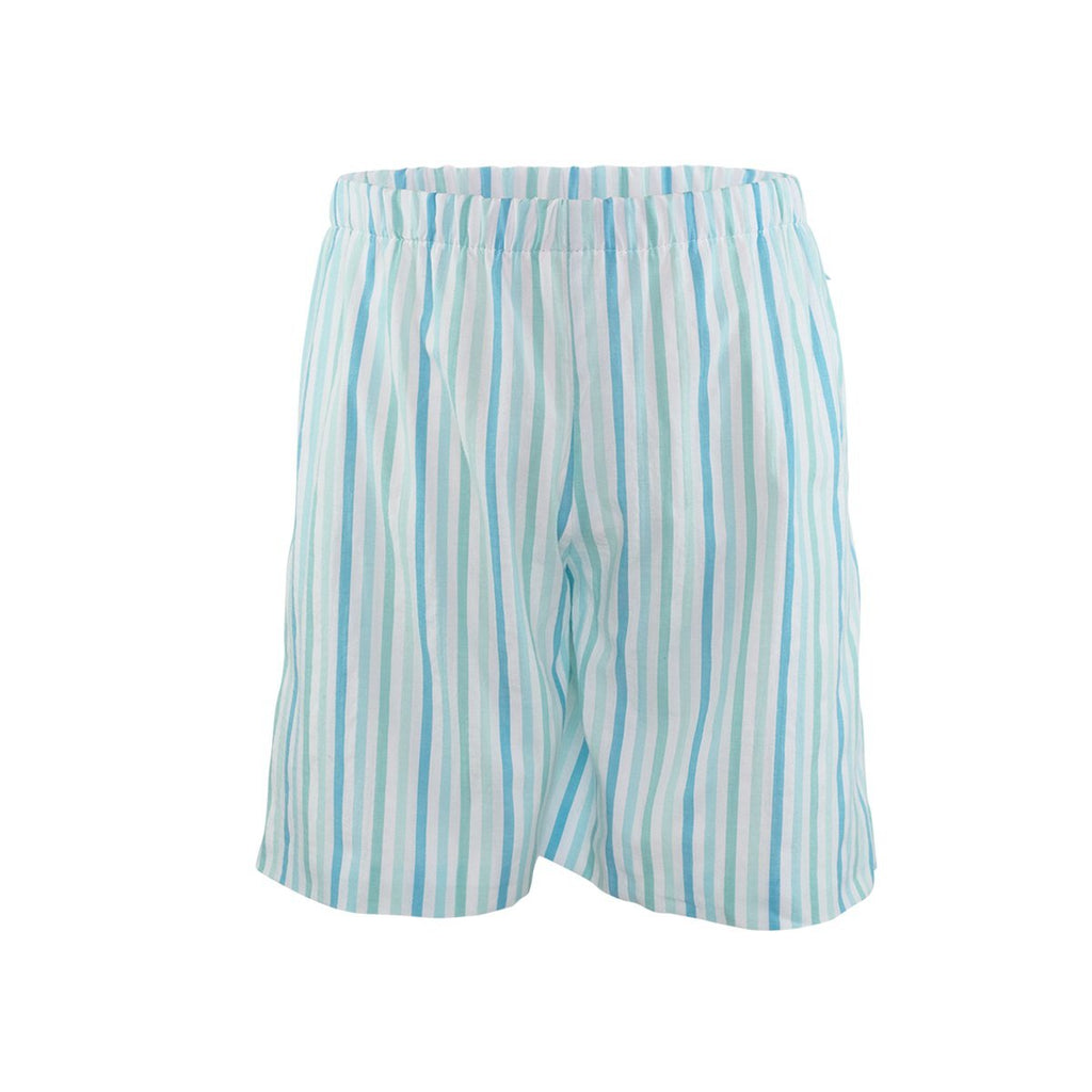 George Short - Aqua Stripes Size 6