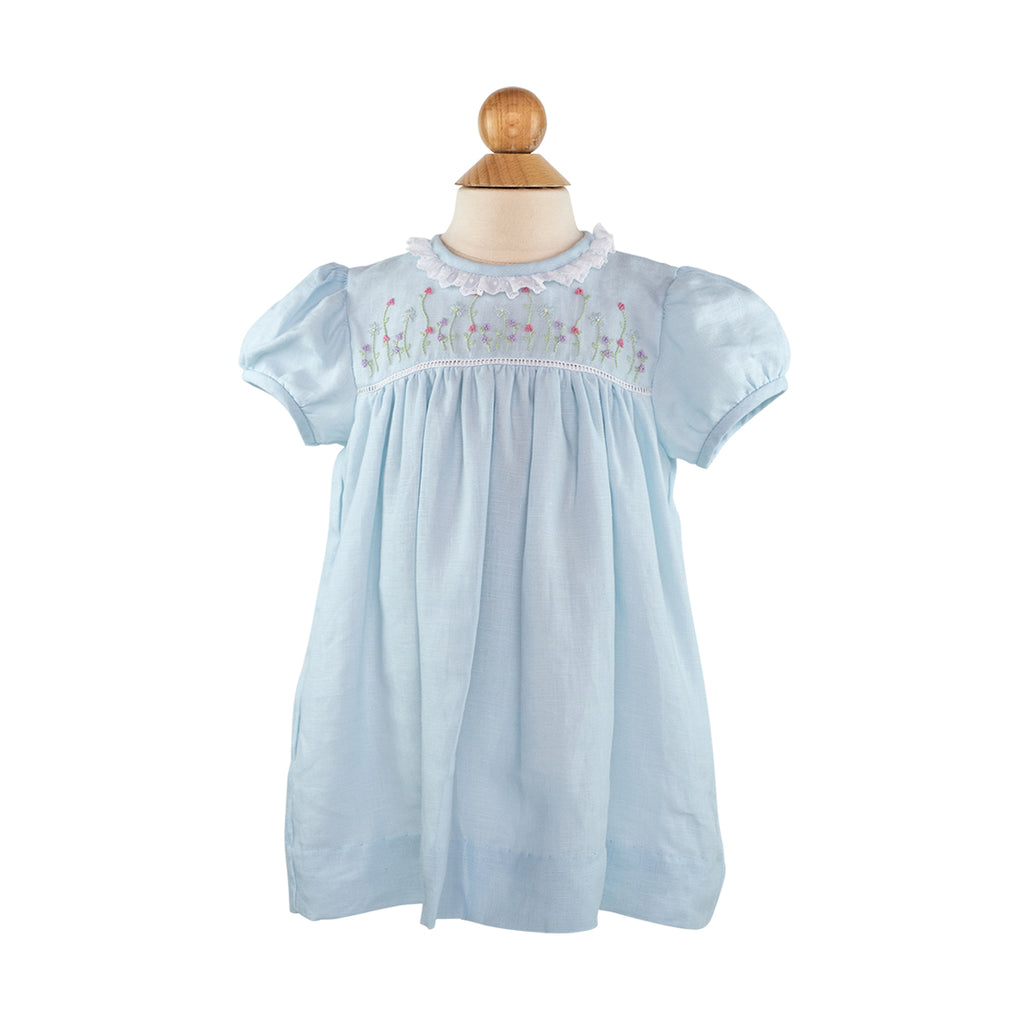 Embroidered Flower Dress Size 2T
