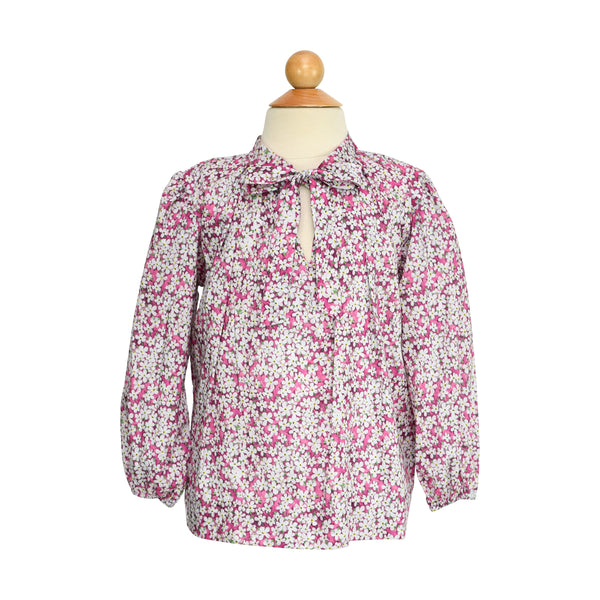 Madeline Bow Blouse