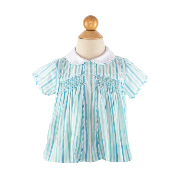 Smocked Day Shirt Size 18m