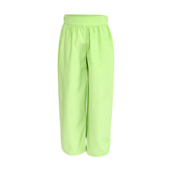 Carolyn Pant  in Lime Corduroy