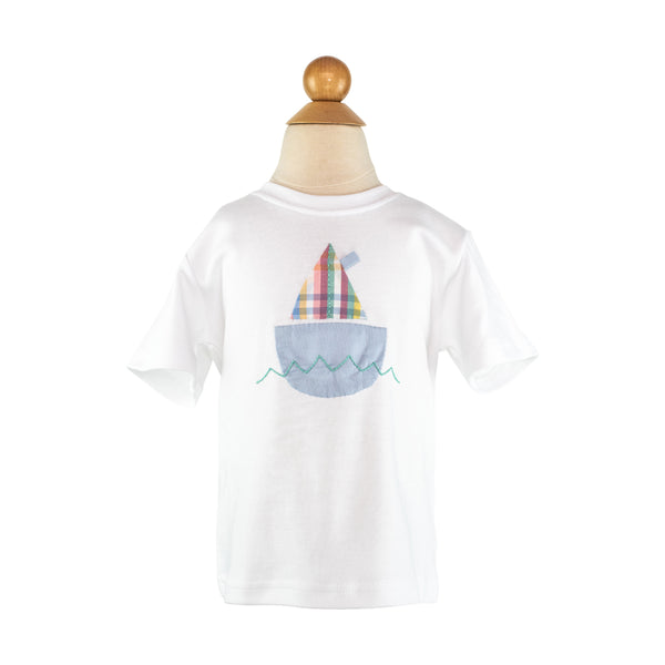 Boy Applique - Sailboat