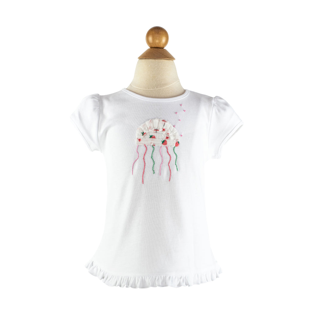 Girl Applique - Jellyfish Size 3T