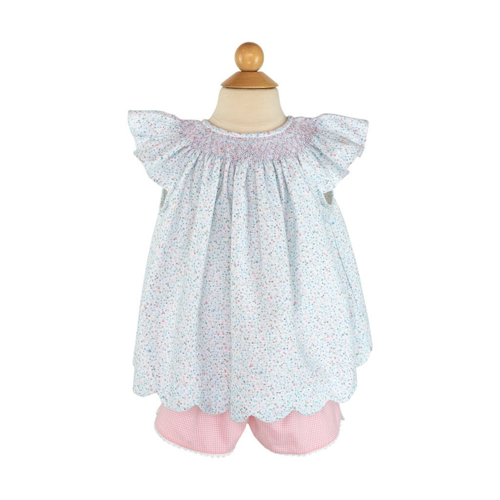 Carolyn Short - Pink Gingham Size 4T